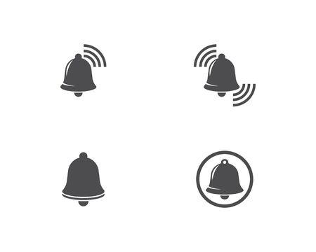 Bell logo vector template Standard-Bild - 129141716