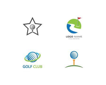 Golf Logo Template vector
