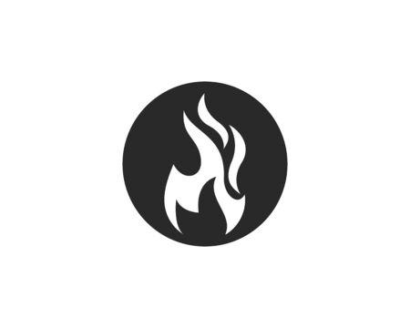 Fire flame Logo Template 版權商用圖片 - 129142059