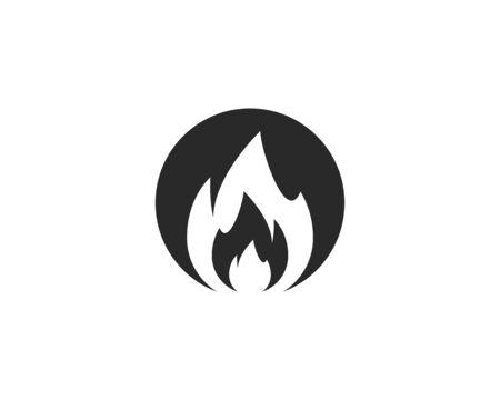 Fire flame Logo Template