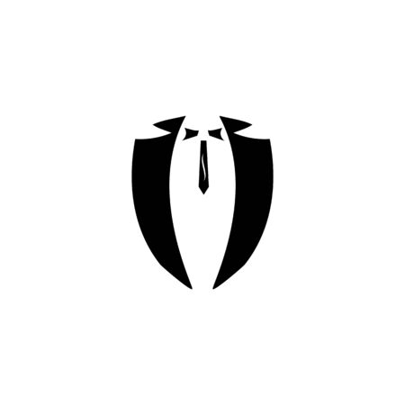 Tuxedo vector icon template