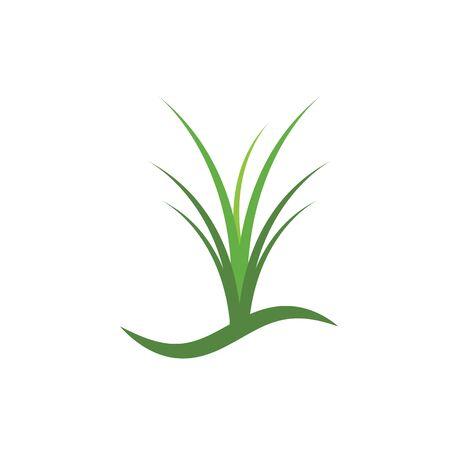 Grass vector template design