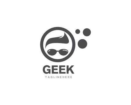 Geek Logo vector template