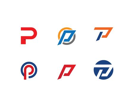 P letter logo vector template Illustration