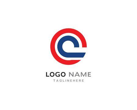 C  letter logo vector template