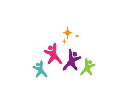 Adoption and community care Logo template