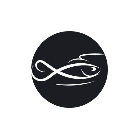 Fish Logo vector Template