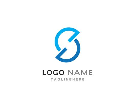 Business corporate abstract unity vector logo design Illusztráció