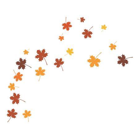 autumn  back ground logo template Ilustrace