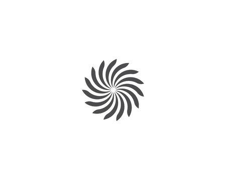 Business logo, vortex, wave and spiral icon Archivio Fotografico - 130099143