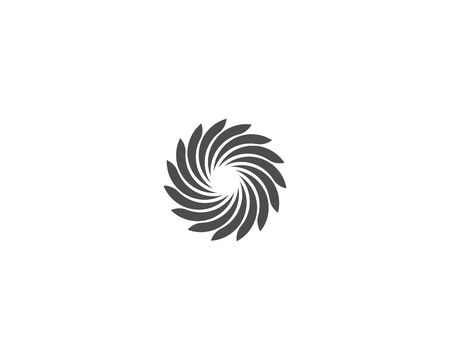 Business logo, vortex, wave and spiral icon Archivio Fotografico - 130099146
