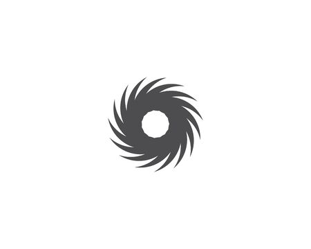 Business logo, vortex, wave and spiral icon Archivio Fotografico - 130099147