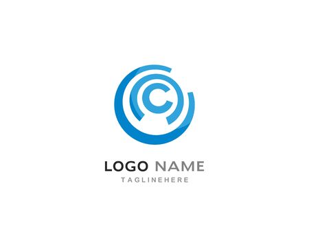 circle logo template vector design Archivio Fotografico - 130099154