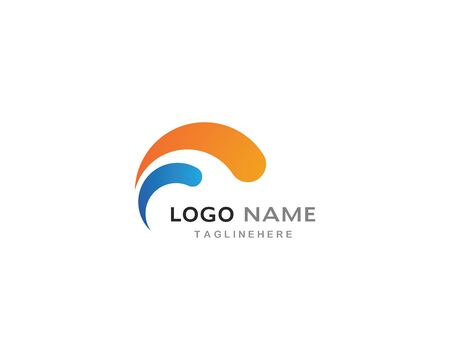 circle  business logo template vector