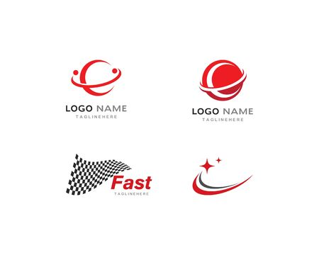 Faster Logo Template vector 스톡 콘텐츠 - 130099612