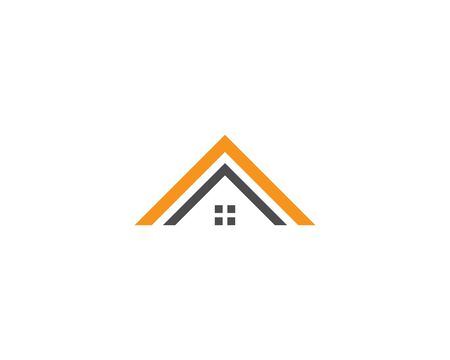 Real Estate , Property and Construction Logo design Ilustração