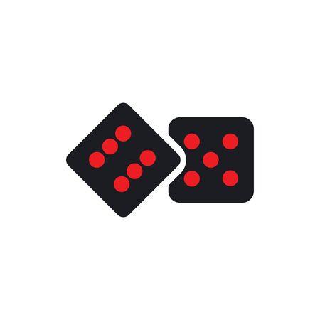 dice icon template template design