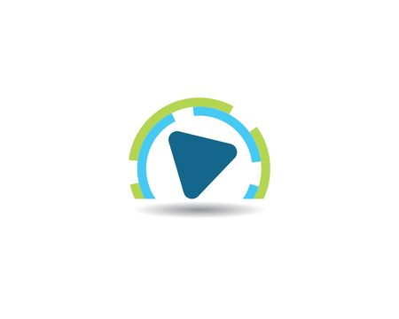 play logo Vector icon template