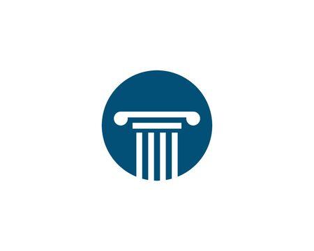 column Logo vector Template Vectores