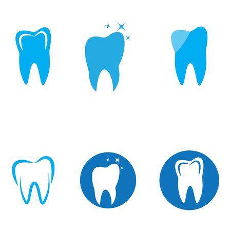 Smile Dental logo Template vector illustration icon design Illustration