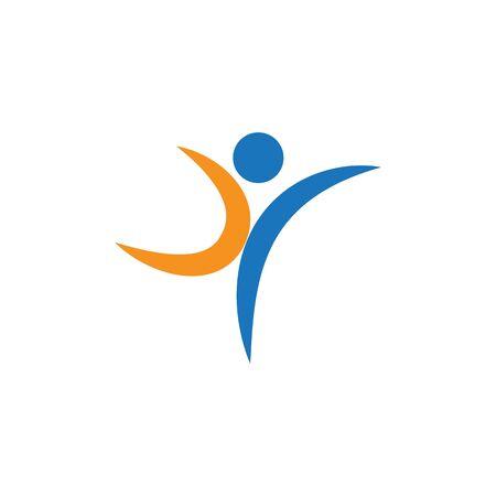 Healthy Life Logo template vector Archivio Fotografico - 134856665