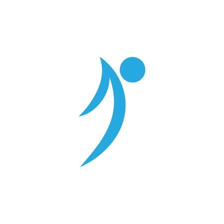 Healthy Life Logo template vector Archivio Fotografico - 134856666