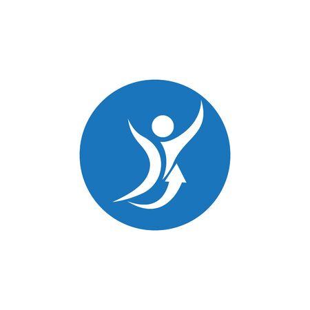 Healthy Life Logo template vector Archivio Fotografico - 134856684