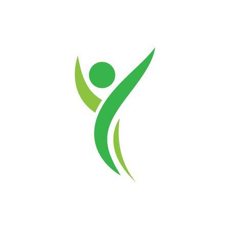 Healthy Life Logo template vector Archivio Fotografico - 134856708
