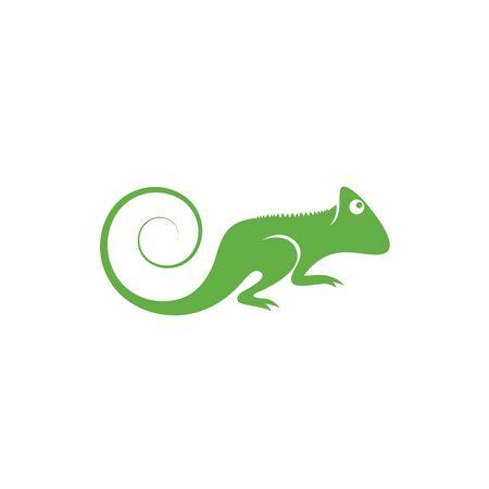 Lizard vector illustration logo template