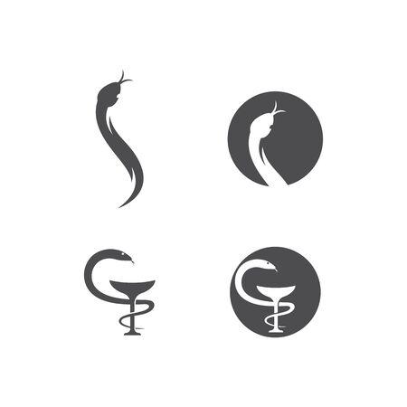 Pharmacy logo vector ilustration template Illusztráció