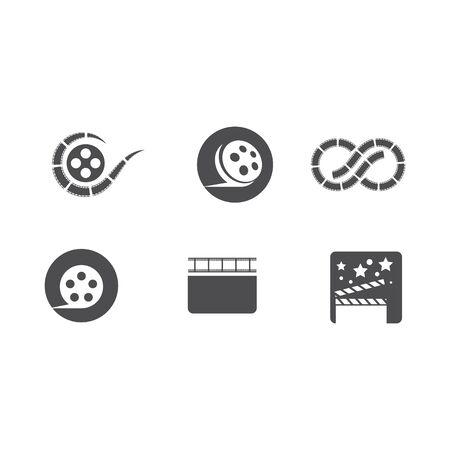 Movie Logo Template vector illustration design