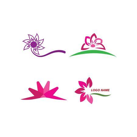 Beauty Vector Lotus flowers logo