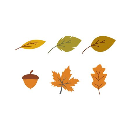 Autumn seamless background wallpeper vector illustration Banque d'images - 138453400