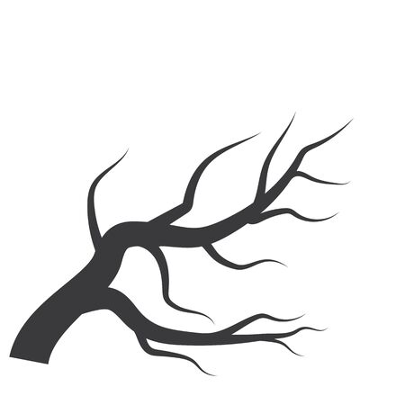 Tree logo background template vector illustration
