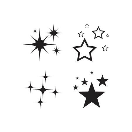 Sparkling star icon vector design