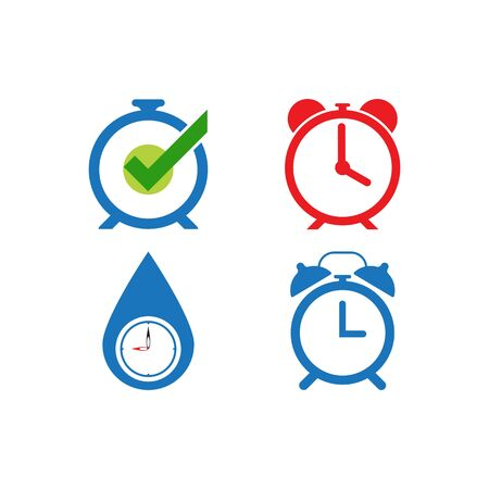 Time icon vector illustration template