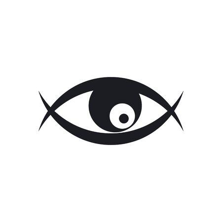 Eye illustration  logo business vector template