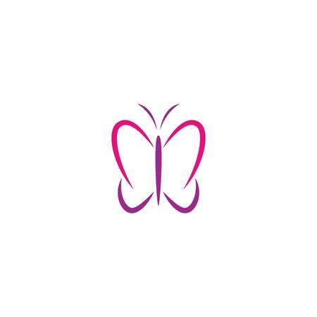 Butterfly Logo Template Vector design