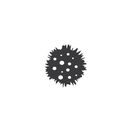 Bacterial Probiotic icon vector flat design Ilustracja