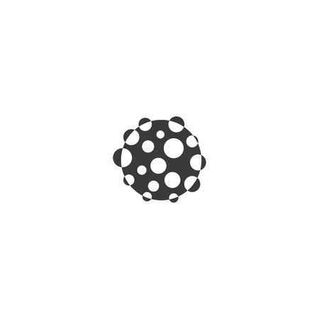 Bacterial Probiotic icon vector flat design Zdjęcie Seryjne - 148258028