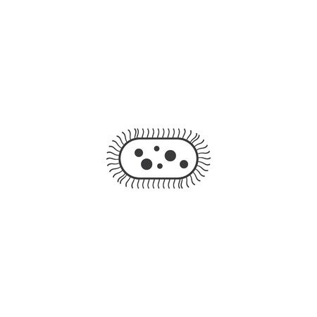 Bacterial Probiotic icon vector flat design Zdjęcie Seryjne - 148258031