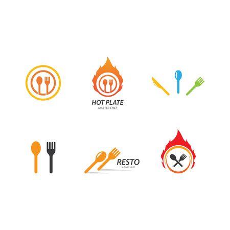 Restaurant illustration design