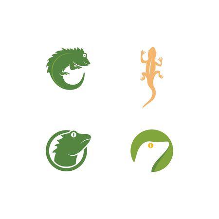 Reptile illustration design