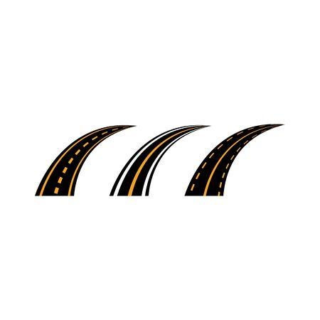 Way symbol illustration design