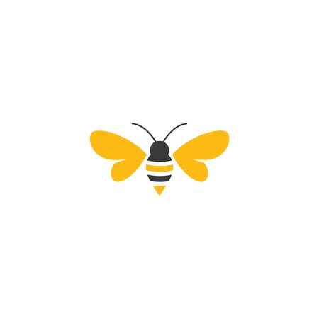 Bee illustration design Illusztráció