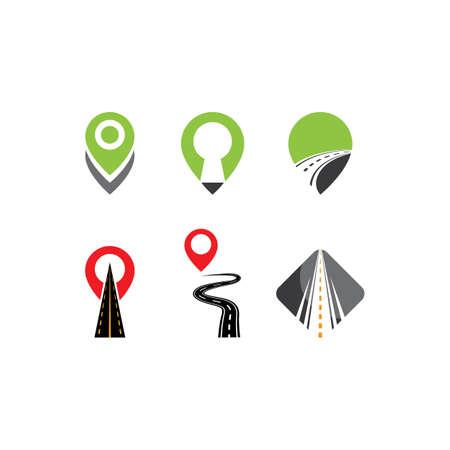 Way symbol illustration vector design