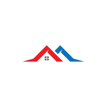 Property and Construction Logo design Ilustração