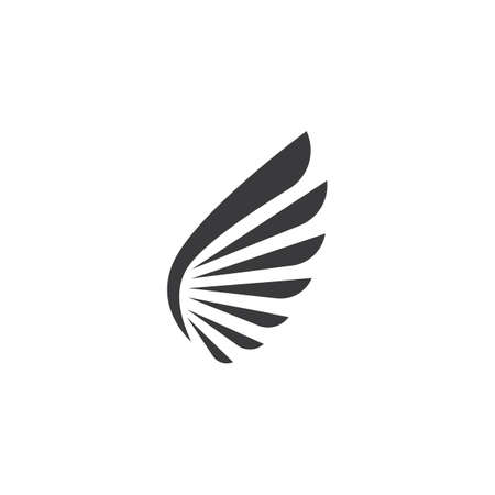 Wing logo and symbol vector ilustration