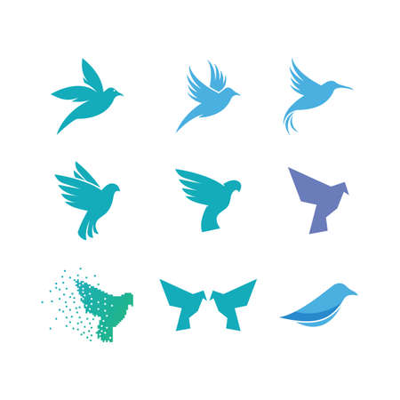 Bird Logo Template vector illustration