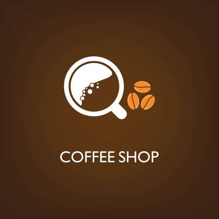 Coffee shop Logo Template vector icon design